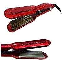 Piastra professionale per capelli effetto frisé da 45W in tormalina 220°C