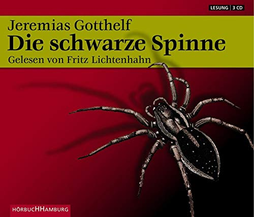 Die schwarze Spinne: 3 CDs