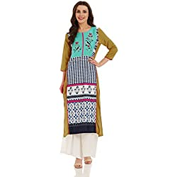 W for Woman Straight Kurta (17FE16627-59177_12_WHITE)