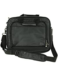 a941bb95027b t43dv - dell Black Nylon topload Notebook Laptop Bag with Shoulder Strap -  fits up