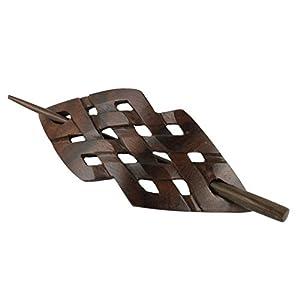 ISLAND PIERCINGS Haarspange Handarbeit aus Holz HS52