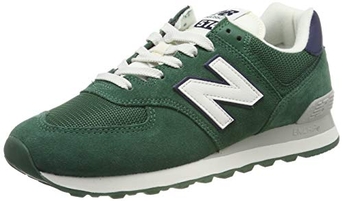 New Balance Herren 574v2 Sneaker, Grün Team Forest Green, 44.5 EU -