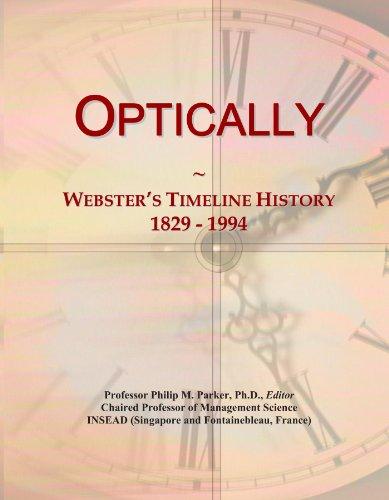Free eBooks English Optically: Webster's Timeline History, 1829-1994 CHM