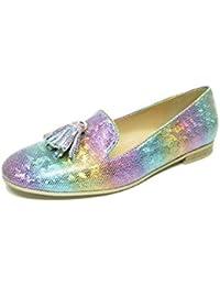 the latest 527e1 3162c Moda di Fausto Women s Loafer Flats