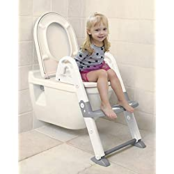 Dreambaby 3 en 1 WC Trainer, Blanc/gris