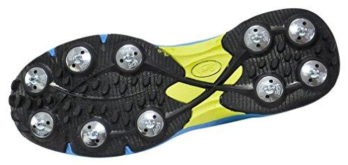 Kookaburra - Pro 515, Scarpe da Cricket Unisex – Adulto Blu (Blue/Yellow)