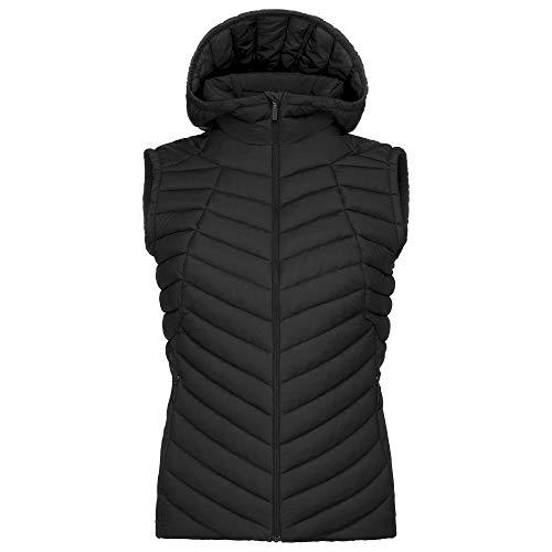 KJUS Women Macuna Insulator Vest Schwarz, Damen Daunen Weste, Größe 42 - Farbe Black