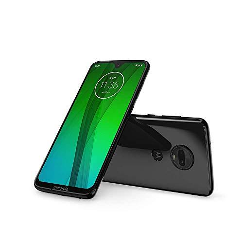 Motorola G7 Smartphone débloqué 4G (6,2 Pouces, 64Go ROM, Android 9.0) Noir Céramique [Exclusivité Amazon]
