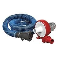 Sealey EFS101 230 V, 370 W singolo condotto sistema di estrazione di vapore