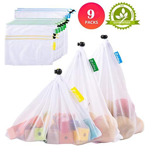 Zindoo Bolsas Compra Reutilizables Ecológicas