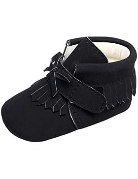 Winter Stiefel kurze Lauflernschuhe kinder Neugeborenes Jungen Mädchen Krippe Prewalker Warme Quaste Bogen Baumwolle...