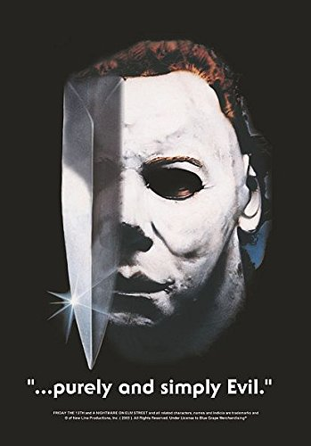 NE MICHAEL MYERS PURELY & SIMPLY EVIL (Halloween Michaels)