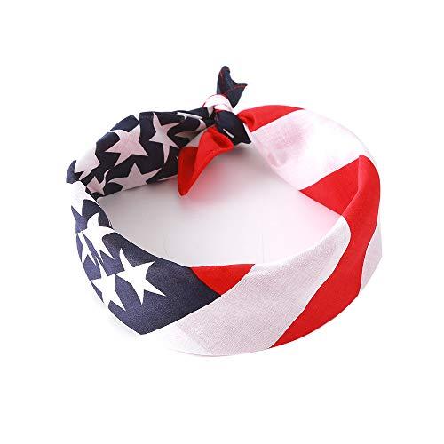 UK_Stone Weihnachten Hundehalstücher Hunde Dreieckstuch Spucktücher für Hunde oder Katzen Hundezubehör, Amerikanische Flagge - Stadt Amerikanischen