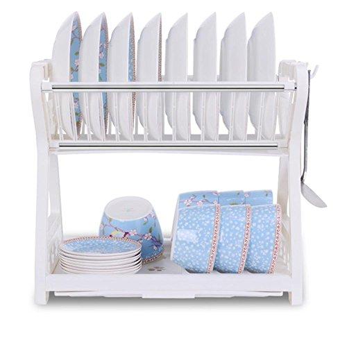 Doppelte Schüssel Geschirrkorb Kitchen Küchenutensilien Regal Ablauf Schüssel Regal Schrank Tisch Ware Box Aufbewahrung Rack? enthalten nicht die Produkte angezeigt? 2 - 2 Regal-schrank Mahagoni