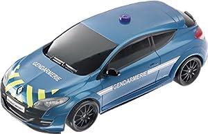 Mondo Motors - Coche con radiocontrol, Escala 1:14, Modelo Renault Megane RS, Coche de gendarmería (63162)