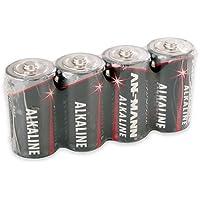 Ansmann Batterien Baby C LR14 4 Stück 1,5V - Alkaline Batterie langlebig & auslaufsicher - Ideal für Spielzeug, LED…