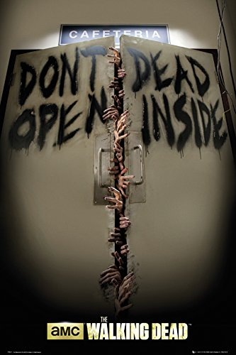 GB eye LTD, The Walking Dead, Keep Out, Maxi Poster, 61 x 91,5 cm