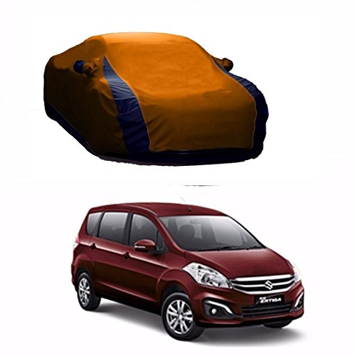 MotRoX Lively Water Resistant Car Body Cover For Maruti Suzuki Ertiga (Beige & Blue - V Shape)  available at amazon for Rs.1036