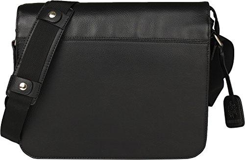 Leonhard Heyden Hannover Messengerbag M 8 schwarz