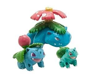 Pokémon - Pack évolution 3 mini figurines - Carapuce, Carabaffe et Tortank
