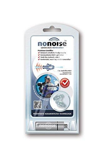 Preisvergleich Produktbild NoNoise Gehörschutz für Motorsport, inkl. Alu-Aufbewahrungsdose, Set
