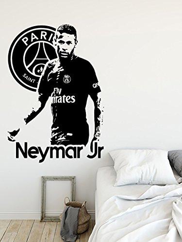 Neymar Junior Paris Saint Germain Psg Grand Sticker Autocollant