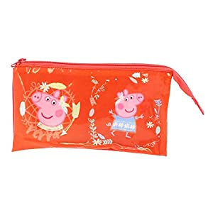 Copywrite Europe Group S.A Estuche 3 Compartimentos de Peppa Pig