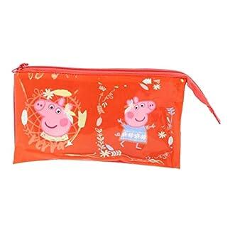 Copywrite Europe Group S.A Estuche 3 Compartimentos de Peppa Pig