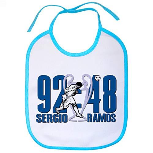 Babero Sergio Ramos gol minuto 92 Champions - Celeste
