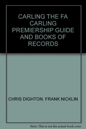 carling-the-fa-carling-premiership-guide-and-books-of-records