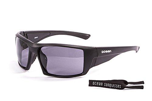 OCEAN SUNGLASSES - Aruba - lunettes de soleil polarisÃBlackrolles  - Monture : Noir Mat - Verres : FumÃBlackrolle (3200.0)