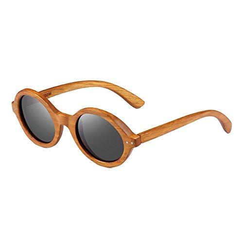 Sonnenbrille Junge Künstler Sandelholz Sonnenbrille Funktion Anti-UVA, Anti-UVB, polarisiertes Licht