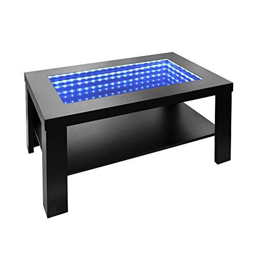 Home Deluxe - LED Tisch mit Tiefeneffekt- schwarz