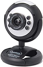 QHMPL Quantum QHM495LM USB PC Web Camera 25 Mega Pixels Extra Clear with Night Vision and In-Built Microphone (Black)
