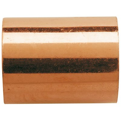 Raccord cuivre pression à souder - Manchon femelle / femelle - ø18 mm Lot de 10