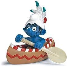 Schleich 20549 -  Figura/ miniatura Canoa Pitufo