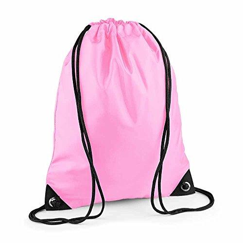 BAG BASE - sac à dos à bretelles - gym - linge sale - chaussures - BG10 - rose