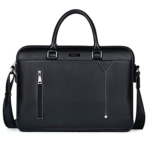 Bageek Porte Documents Sacoche Homme Grand 15,6''...