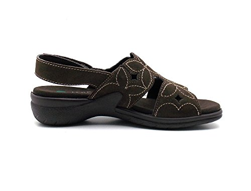 Legero Sandales Pantoufles Pantoufles Sandales Chaussures Femmes 704-10 Marron Foncé