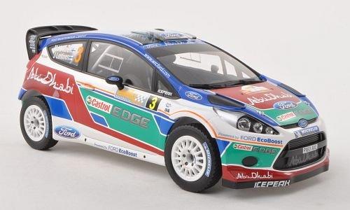 Ford Fiesta RS WRC, No.3, Ford Abu Dhabi, Rally Australien , 2011, Modellauto, Fertigmodell, Minichamps 1:18