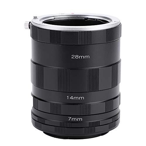 Elerose Anello adattatore obiettivo macro Tubo di prolunga per Fotocamera mirrorless Fujifilm