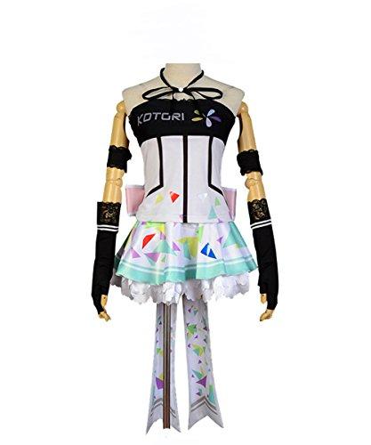 Fuman Love Live Kotori Minami Cosplay Kostüm Cyber Ver. SR Cards fasching Karnival Kostüm Cosplay XXL