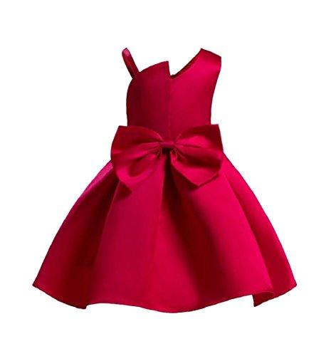 3babad4e85170 Amlaiworld ❤️Robe de Filles Filles Robe de Demoiselle d honneur de Mariage  de Fleur