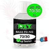 Base neutre - 1 L - PG/VG - 30/70 - DIY E LIQUIDE - Vapfusion - Sans nicotine ni tabac