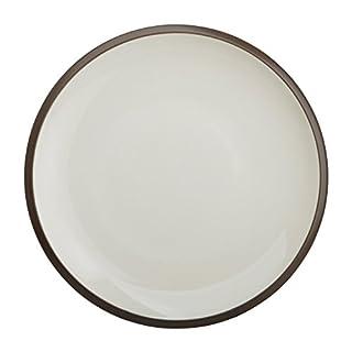 Avet Spain Cream Stoneware Dinner Plate Set, 27.5x 27.5x 2.52cm Set of 6