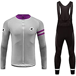 Uglyfrog fietsen Kleding Mannen Winter Cycling Jacket + broek lange mouwen Dames gewatteerde Winter 3D kleding set wol Thermal Cycling HSuitZR09