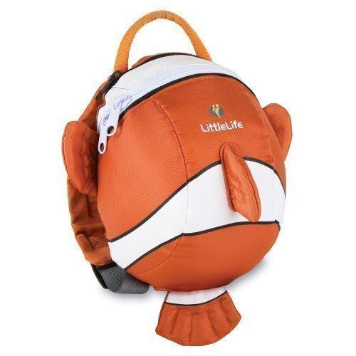 Littlelife Kleinkind Tagestasche Rucksack Mit Sicherheit-Haltegriff Clown-Fisch