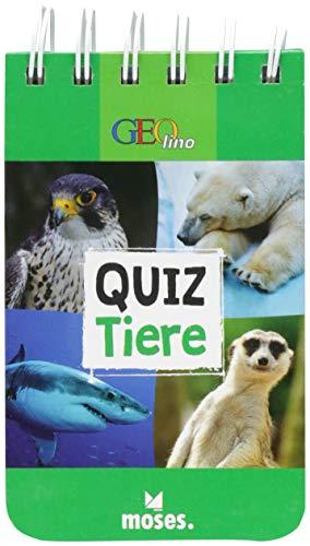GEOlino Quiz Tiere | 100 spannende Fragen und Antworten | Für Kinder ab 8 Jahren