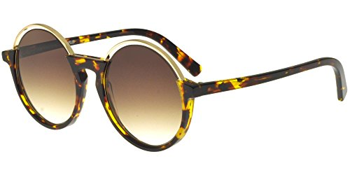 Jplus Sonnenbrillen COSTUME NATIONAL BY JPCN 8003/S SHINY TORTOISE SHINY GOLD/BROWN OLIVE ()