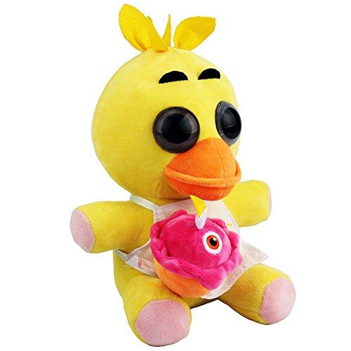 New Arrival Fnaf Chica Plush Soft Toy Doll For Kids Gift-Nueva Llegada Fnaf Chica Suave De La Felpa Muñeca De Juguete Para Niños Regalo